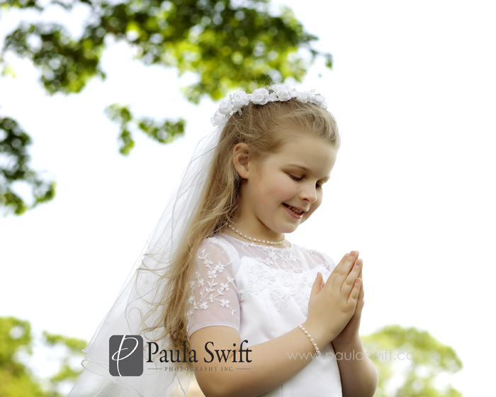brianna 0025 First Communion Portraits | Childrens Photographer MA