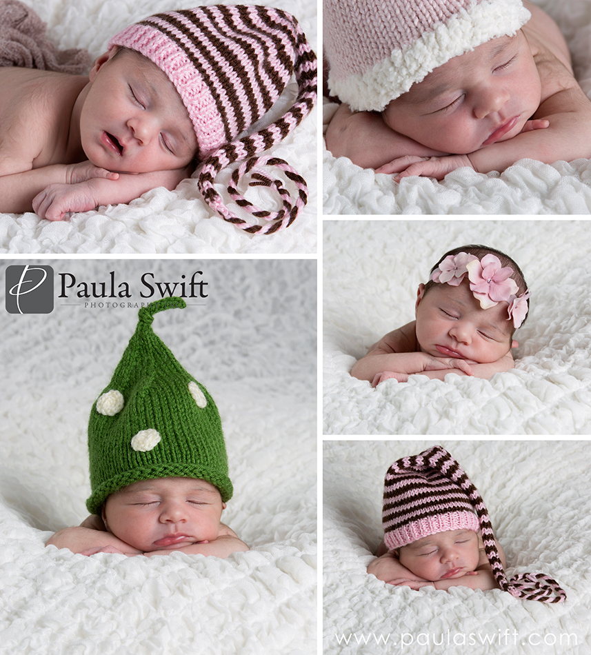 Sleepy Newborn Poses