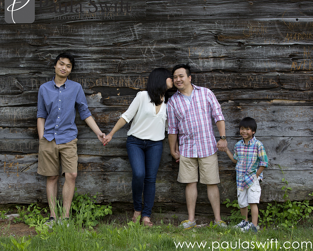 family session outdoors
