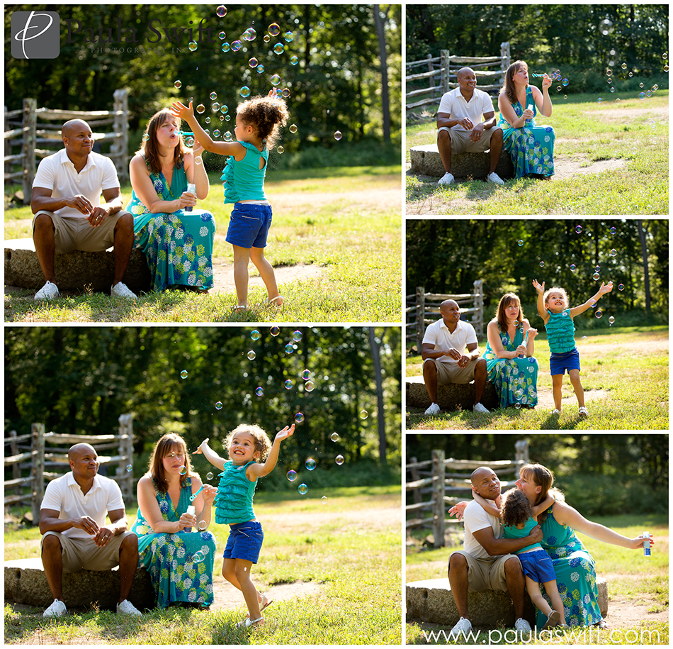 fun family photography session
