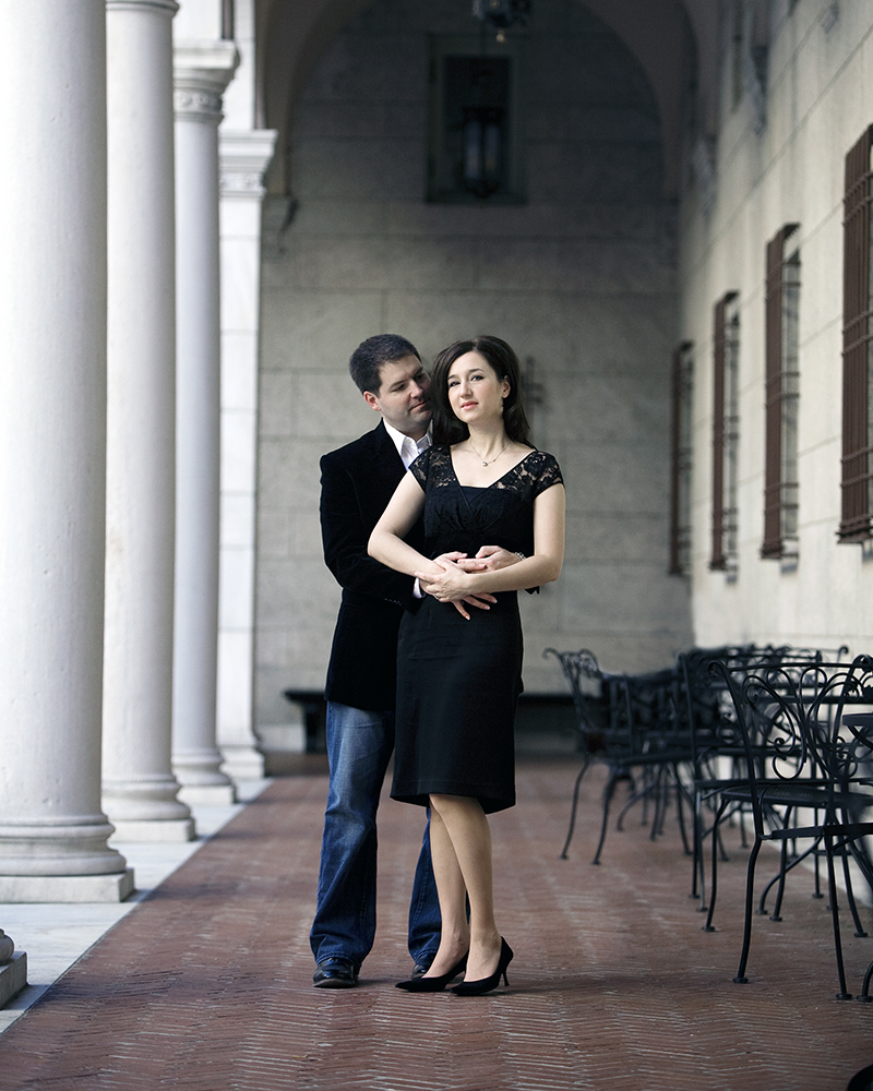 beautiful engagement portraits
