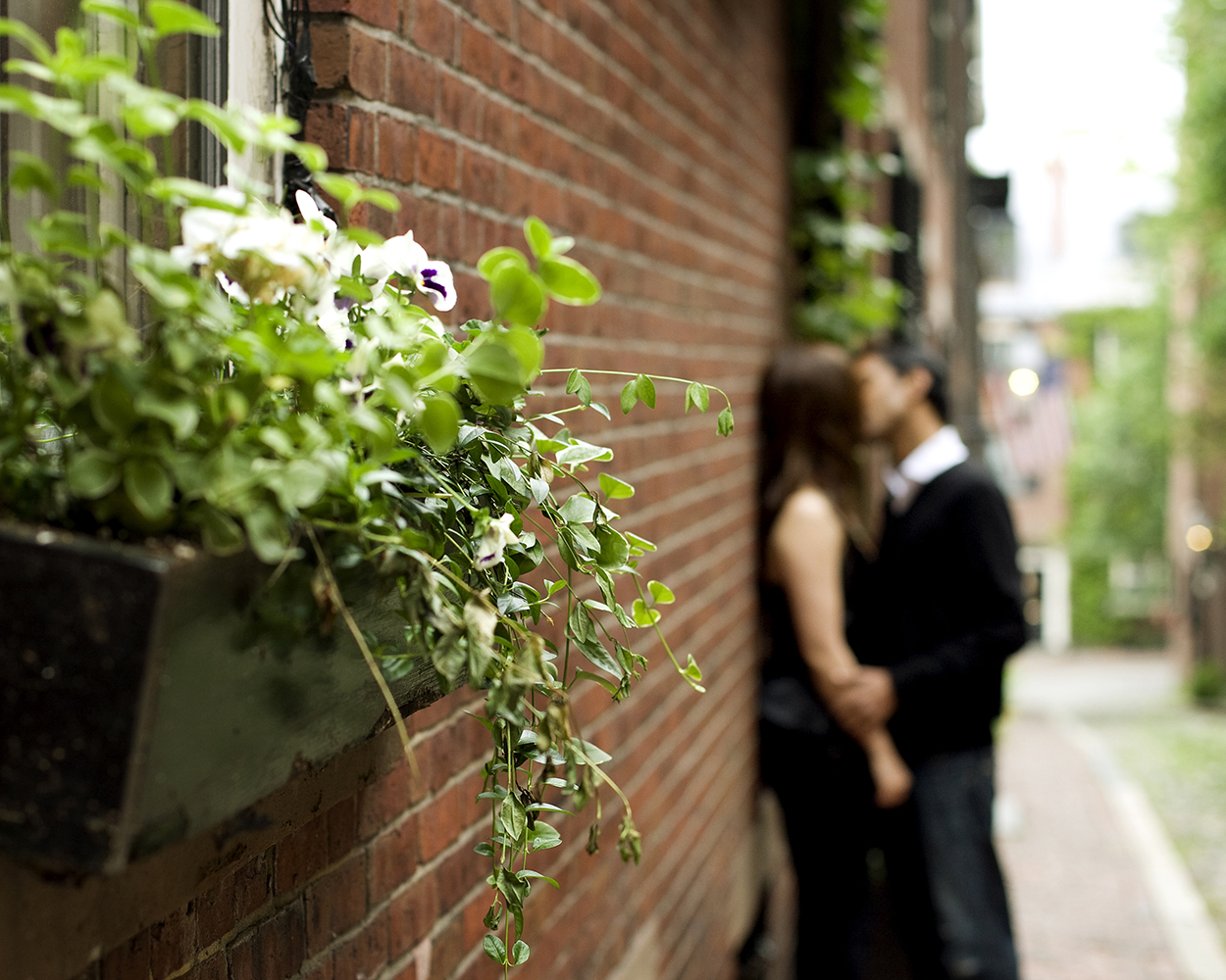 engagement photos acorn street