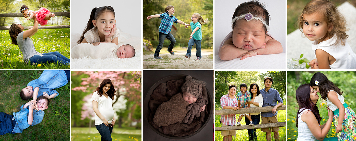 Boston Newborn Child Family Photography